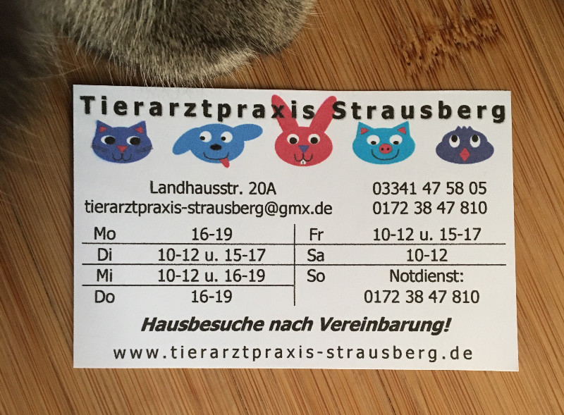 Tierarztpraxis Strausberg